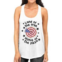 Home Of The Pizza Womens White Tank Top Gifts For Pizza Lovers - $14.99+