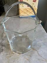 Glass ice bucket - $23.30