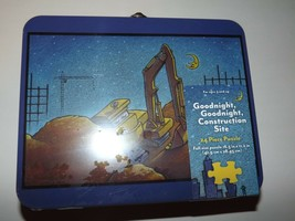 Goodnight, Goodnight Construction Site 24 Piece Kid's Puzzle in Metal Lunch Box - $10.67