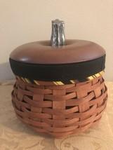 Longaberger 2007 RARE RETIRED Autumn Fall Ghord Basket Set - NEW - Free Ship! - $75.15