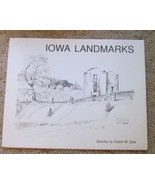 """4 PENCIL SKETCHES BY ROBERT W DYAS """"IOWA  LANDSCAPES""""   - $99.00"""