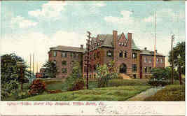 City Hospital Wilkes Barre Penna Post Card Vintage 1906 - $6.00