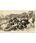 Mexican Revolution Executed Prisioners Circa 1915 Post Card - $95.00