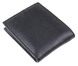 Calvin Klein Ck Men's Leather Billfold Id Wallet With Removable Card Case image 3