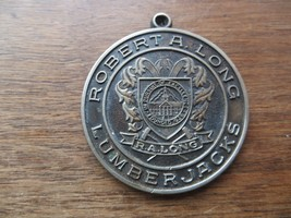 Robert A.Long Lumberjacks Founded 1928 Challenge Coin Keychain Merchant Token - $14.25