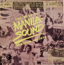 The Best of Manila Sound, Various Artists Philippine/Tagalog CD - $6.95