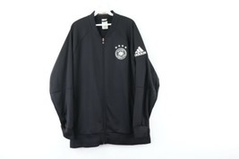 Adidas Mens XL Deutschland Germany 2014 World Cup Soccer Jacket Warm Up ... - $89.05