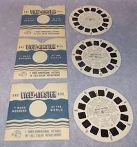 Vintage 1964 Sawyer's View Master Reel Set Winnie the Pooh 3621 22 23 - $10.00