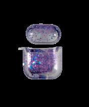 Floating Purple Glitter Apple Airpod 2 Case - $14.99
