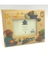 Fetco Beacon Hill Photo Frame Baby Sleepy Bedtime Teddy Bears 3.5x5 Fine... - $13.95