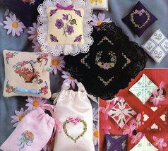 Cross Stitch & Needlepoint Sachets & Pincushions - $4.50