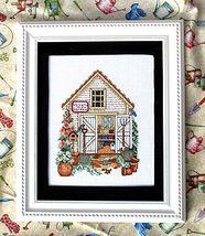 Gardeners Shanty cross stitch chart Bobbie G Designs - $5.40