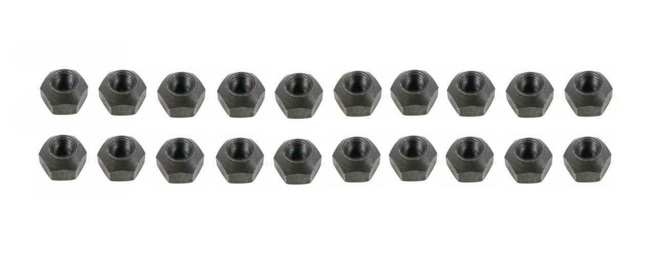 Primary image for Land Rover Defender Lug Nut Set (20 pieces) Galvanized & Black Passivate Plated
