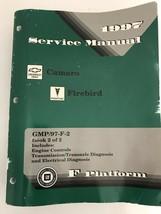1997 Chevrolet Camaro Pontiac Firebird Factory Service Manual F Platform... - $19.75