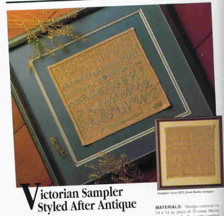 Classic Cross-Stitch A Needle Arts Collection by Herrschners, April May 1990