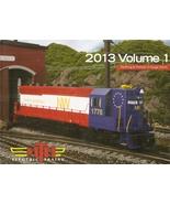M.T.H. ELECTRIC TRAINS 2013 RAILKING & PREMIER O- GAUGE TRAINS VOL 1 - $6.99
