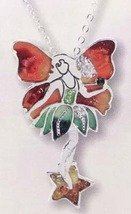 Orange Fairy Pendant - $18.00
