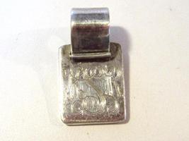 Sterling silver 925 Letter KSR pendant - $15.00