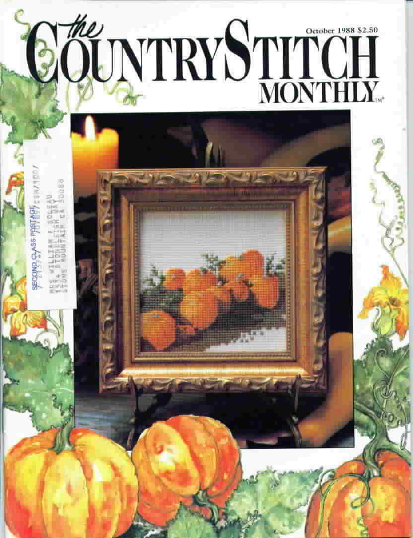 The country stitch monthly oct 1988