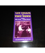 Terror of Tiny Town VHS Video Tape The Exploitation Collection - $7.70