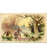 Christmas Greetings vintage John Winsch published Post Card - $6.00