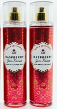 2-Pack Bath Body Works Raspberry Jam Donut Fine Fragrance Mist Spray 8 f... - $27.67