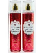 2-Pack Bath Body Works Raspberry Jam Donut Fine Fragrance Mist Spray 8 f... - $27.67