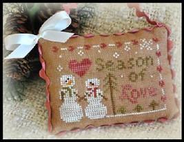 Season of Love 2012 Series #11 chart Little House Needleworks - $5.40