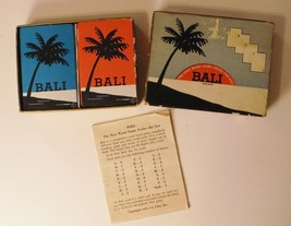 Vintage BALI Card Game  Word Game 1954 I-S ULTD Inc. Complete - $14.01