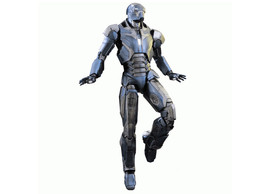 Iron Man Mark XL `Shotgun` Poseable Figure from Iron Man 3 MMS309 - $508.75