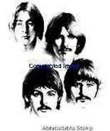 BEATLES-FAB FOUR BRAND NEW mounted rubber stamp