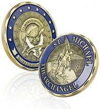 Atsknsk Saint Michael USAF Security Challenge Coin - $21.65