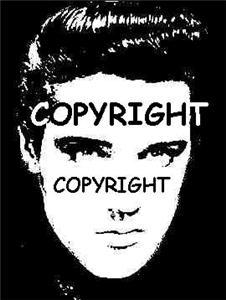 ELVIS REVERSE BLOCK NEW MOUNTED rubber stamp