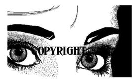 FEMALE EYES #4 NEW RELEASE NEW mounted rubber stamp - $6.50