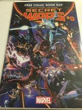 2015 Marvel Comics Free Comic Book Day Secret Wars #0 - $4.95
