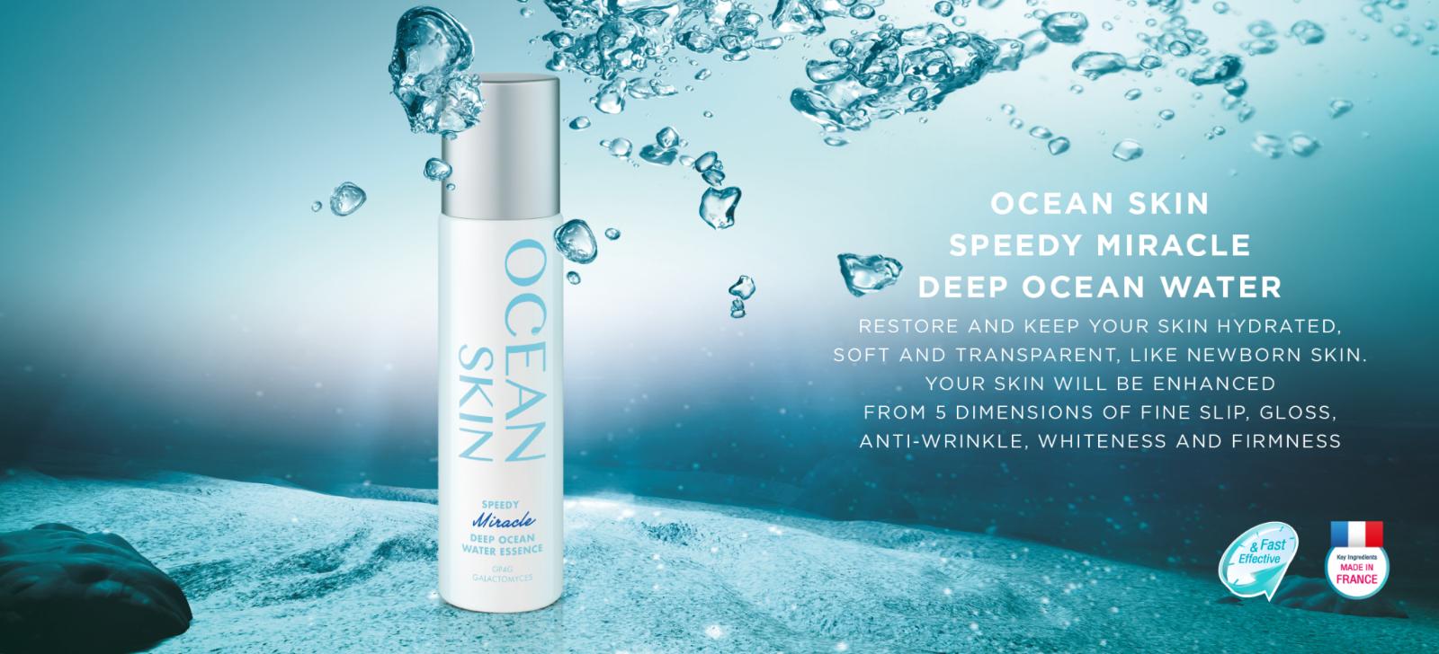 150ml : Ocean Skin Speedy Miracle Deep Ocean Water Essence