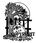 R.I.P. GRAVESTONE new halloween mounted rubber stamp - $8.50