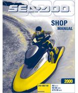 2000 SEADOO RX RXDI GTXDI SERVICE REPAIR WORKSHOP MANUAL - INSTANT DOWNLOAD - $14.95