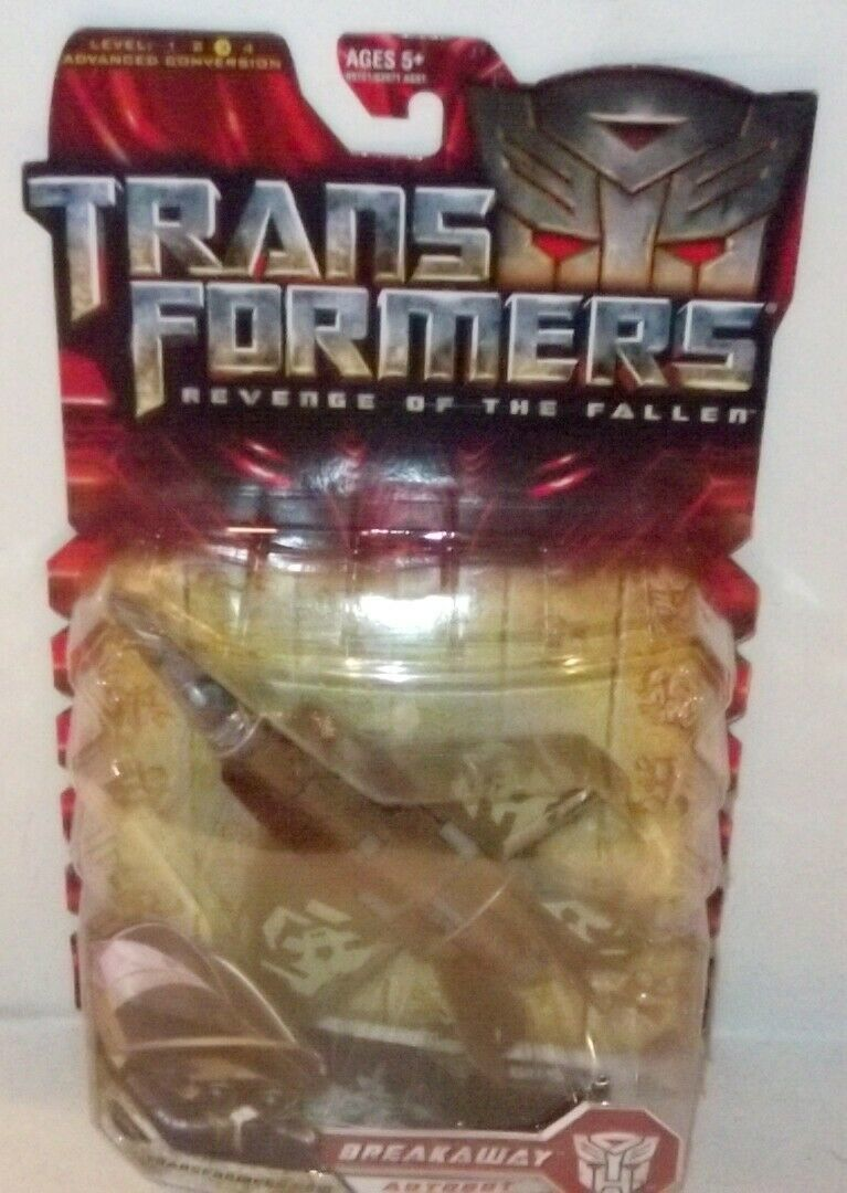 ✰ 2008 Transformers ROTF Revenge of the Fallen Breakaway Deluxe Class Sealed MOC image 2