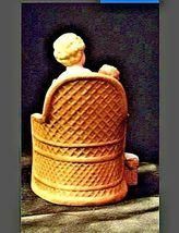 Vintage HOMCO 8743 Mother holder her child Figurine AA19-1416 image 3