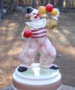 Vintage Schmid Be a Clown Musical Porcelain Figurine - $25.00