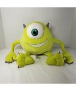 "Disney Pixar Monsters Inc Mike Wazowski 13"" Plush Stuffed Toy Green Eye ... - $14.50"