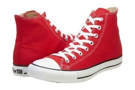 Converse Chuck Taylor Hi Top Red Shoes M9621 Mens 7 - $56.43
