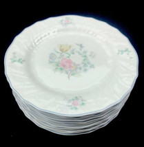 """Royal Doulton Valencia Moselle Collection 1144 1983 6"""" Bread Plate Set of 11 U24 - $65.41"""