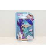NIP 2016 AMELIA FINGERLINGS TURQUOISE BLUE GLITTER MONKEY - $15.99