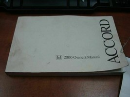 ACCORD    2000 Owners Manual 160803 - $14.85