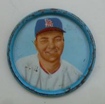 Ken McBride Salada Tea Junket Coin 1962 Los Angeles Angels Pitcher  - $3.95