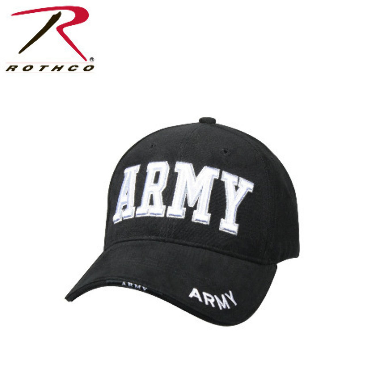 USAR US Army Military Black White Veteran Baseball Low Profile Hat Cap for sale  USA