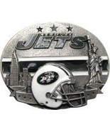 New York Jets Licensed Nfl Helmet Belt Buckle - $20.00