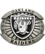 Licensed Oakland Raiders Belt Buckle - $19.00